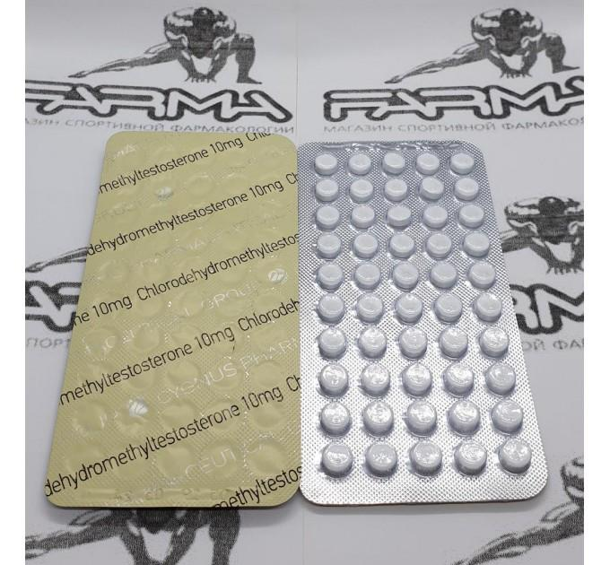 Chlorodehydromethyltestosterone 10 mg/tab x 50 таб. - Туринабол Сигнус (Cygnus)