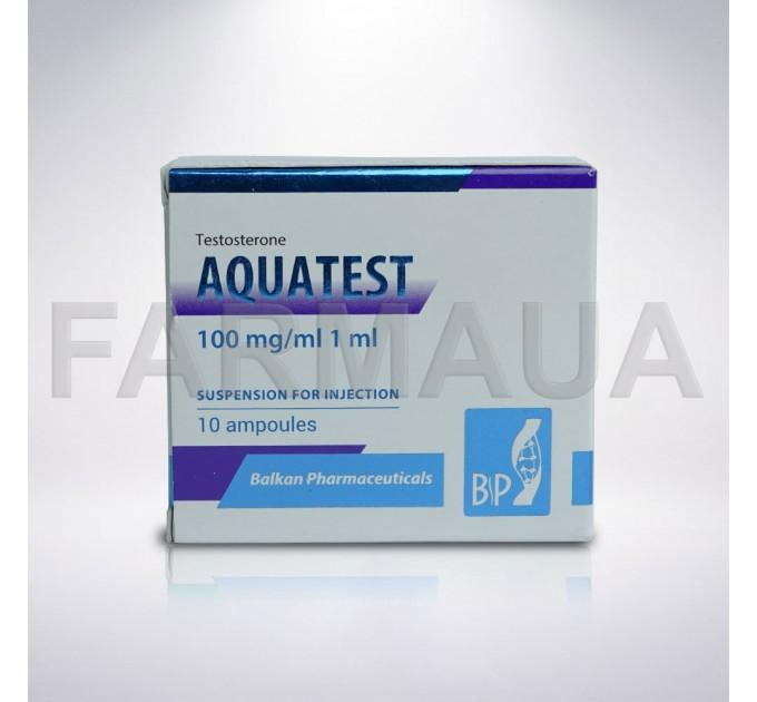 Aquatest 100 mg/ml x 1 ампулу - Тестостерон суспензия Балкан (Balkan)